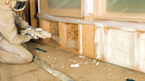 Closed Cell Spray Foam Insulation Bangor Maine Area